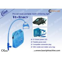 China Blue Cool Light Teeth Whitening Machine For Yellow / Black / Brown / Coffee Teeth Removal on sale