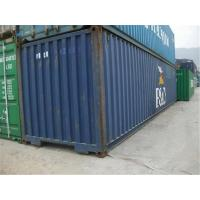 Quality Blue Used Metal Shipping Containers International Standards Dry Cargo Container for sale