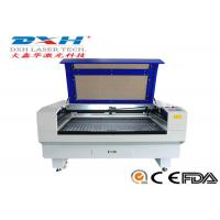 China Fabric / Leather Laser Engraving Machine 60 Watt Co2 Laser Engraver 0-800mm/S wholesale