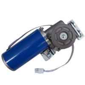 China 350 mm line Long blue coating Door opener motor for Door system 24VDC 75W 4200RPM Ratio wholesale