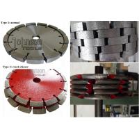 Buy cheap Crack Chasing Tuck Point Diamond Blades , Diamond Cutting Saw Blade 125mm 180mm 300mm from wholesalers