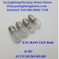 China E10 Screw based LED Warm white Indicator lamps in 24mm long for different equipment lighting wholesale