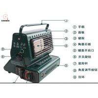 China High Heat Output Outdoor Camping Tools , Double Function Outdoor Camping Heater wholesale