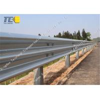 Buy cheap Corrosion Resistance W Metal Beam Crash Barrier Cold Galvanized Spray from wholesalers