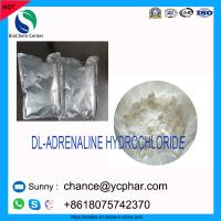 China China Supply High Quality Steroid Hormone Powder DL-ADRENALINE HYDROCHLORIDE CAS 329-63-5 wholesale