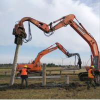 China jiangsu Construction machinery of pipe pile with customer requirement color wholesale