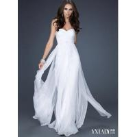 Quality Silk pure white cocktail dress for sale