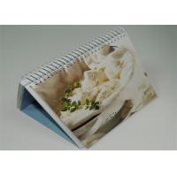 China Offset Custom Photo 4 Color Calendar Printed , Desk Calendar Printing wholesale