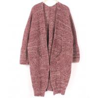 China Customzied Womens Chunky Sweaters With Pocket Racoon Yarn Knited Blouse Clothes wholesale