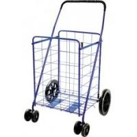 China High quality heavy-duty plastic Foldable Shopping Cart with wheels 380x330x360mm wholesale