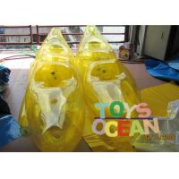 China Air Sealed Funny Inflatable Water Toys Floating Walking Shoes For Adults / Kids wholesale
