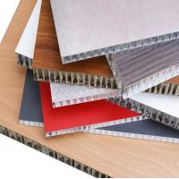China Thermal Insulation Aluminum Honeycomb Panels Fire Resistance For Wall Cladding wholesale