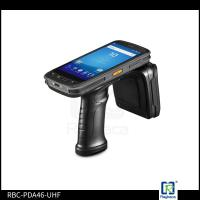 China RBC-PDA-46UHF  960MHz Android Mobile UHF RFID Tag Reader With Scanner on sale