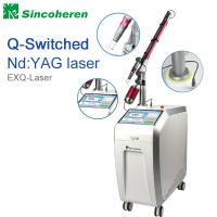 China Q Switched Nd YAG Laser Tattoo Removal Machine , Laser Treatment For Birthmark / Nail Fungus wholesale
