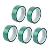 China 3M 8992 High Temperature Tape Green PET Silicone Tape For Powder Coating on sale