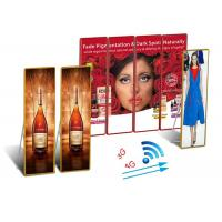 China Ultra Slim Indoor LED Poster 2880Hz Full Color High Brush For Mobile Advertising wholesale
