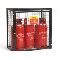 China Small Gas Cylinder Cages Propane Tank Storage Easily Assembled / Dissembled wholesale