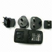 China UL, UK, EU, AU interchangeable plug 3V - 24V 4A Universal AC Power Adapter / Adapters wholesale