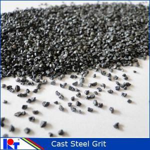 China blasting abrasive steel grit for blasting machinery wholesale