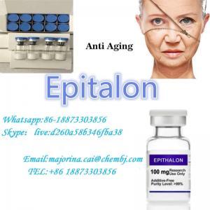 China Epitalon Anti-Aging Peptides Bodybuilding Injectable Peptide White Powder 307297-39-8 wholesale