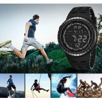 China Wholesale Synoke Multifunction PU Band 5 atm Waterproof Chime Alarm Chronograph Multifunction Outdoor Sports Watch 9688 wholesale