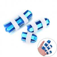 China Five shapes available finger support with foam S M L finger fracture splint wholesale