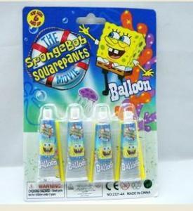 China Magic bubble toys, magin balloon,sponge bob,blow balloon wholesale