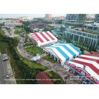 China Colorful PVC Roof Cover Marquee Canopy Tent For Golfing , Tennis , Horse Racing wholesale
