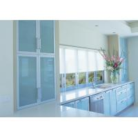 China aluminium asement window with blind on sale