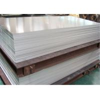 China 1.0mm 1.5mm 2mm 2.5mm Aluminum Alloy Sheet Industrial With PVC Film High Plasticity wholesale