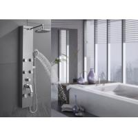 China 4 Functions Modern Shower Panel 0.1 - 0.3M Bar Water Pressure Body Washing wholesale