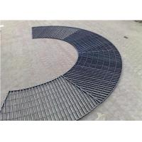 China Xh Serrated Galvanized Steel Grating Stainless304/316 Steel Anti - Corrosive wholesale