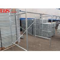 China Galvanized Quick Lock Scaffolding 2.0mm Thickness For Masonry , 5 Year Warranty wholesale