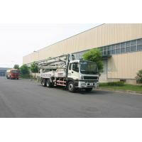 China Mobile 6x4 Concrete Pump TrucksHigh Efficient Delivery Equipment Small 37m wholesale