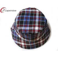 China Custom Comfortable Bucket Hats Tartan Hats For Women wholesale