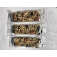 China Customized Soft Taste Nutrition Bar Dried Fruit Protein Energy Bars Contain Vegan Foods wholesale