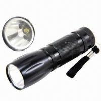 Buy cheap LED flashlights, measures 106 x 33 mm from wholesalers