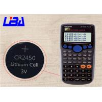 China Calendar Calculators Mno2 Lithium Ion Battery  Green Power  High Drain 600mAh wholesale