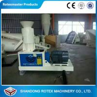 China Wheat Straw Flat Die Wood Pellet Machine To Produce Fuel Pellet For Biomass Boiler wholesale