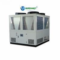 China Air Cooled Water Chiller Unit 150kw Cooling Screw Chiller For PET PVC Line Extruder Machine wholesale