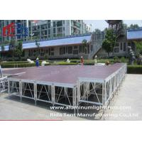 China Lightweight Mobile Stage Platform , Temporary Stage Platforms For Outdoor Concert on sale