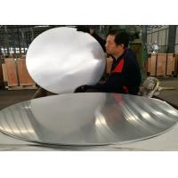 China Large Polishing 1070 Round Aluminum Sheet Light Weight For Kitchen Utensils wholesale