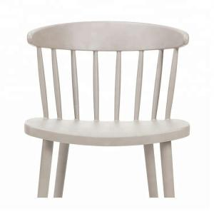 China 4pcs/Ctn Patio H45cm Kids White Plastic Chair on sale