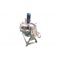 Condiment SS304 50L Sauce Making Steam Jacketed Kettle
