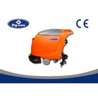 Semi Automatic Walk Behind Floor Washers Scrubbers Plastic Material Handle