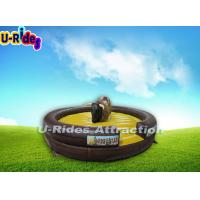 China  Adult Inflatable Mechanical Rodeo Bull Soft 1500W With One Year Warranty  for sale
