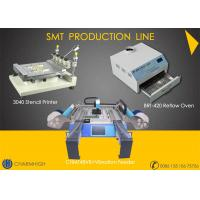 Buy cheap Stencil Printer 3040 / CHMT48VB+ Vibration Feeder, SMT assembly Line / Reflow Oven BRT-420 from wholesalers