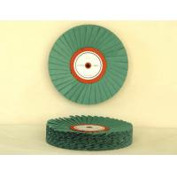 China cheaper price bias open sisal cotton polishing wheel ,bias cloth buff wheel wholesale