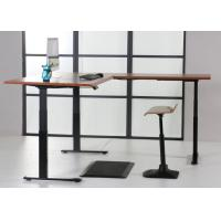 China Convertible Automatic Electric Sit Stand Desk For Office / Home wholesale