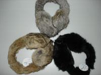 China Rabbit Fur Earmuff (HTH08TX004) wholesale
